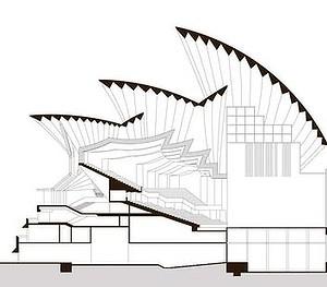 Sydney opera house plan view - House design plans